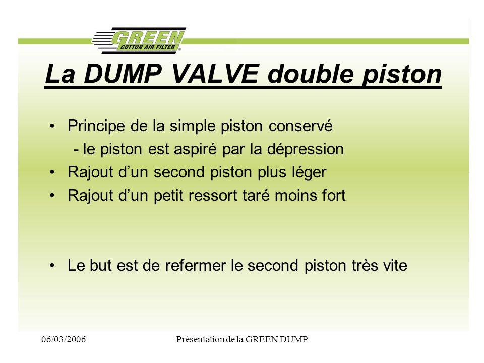 La DUMP VALVE double piston