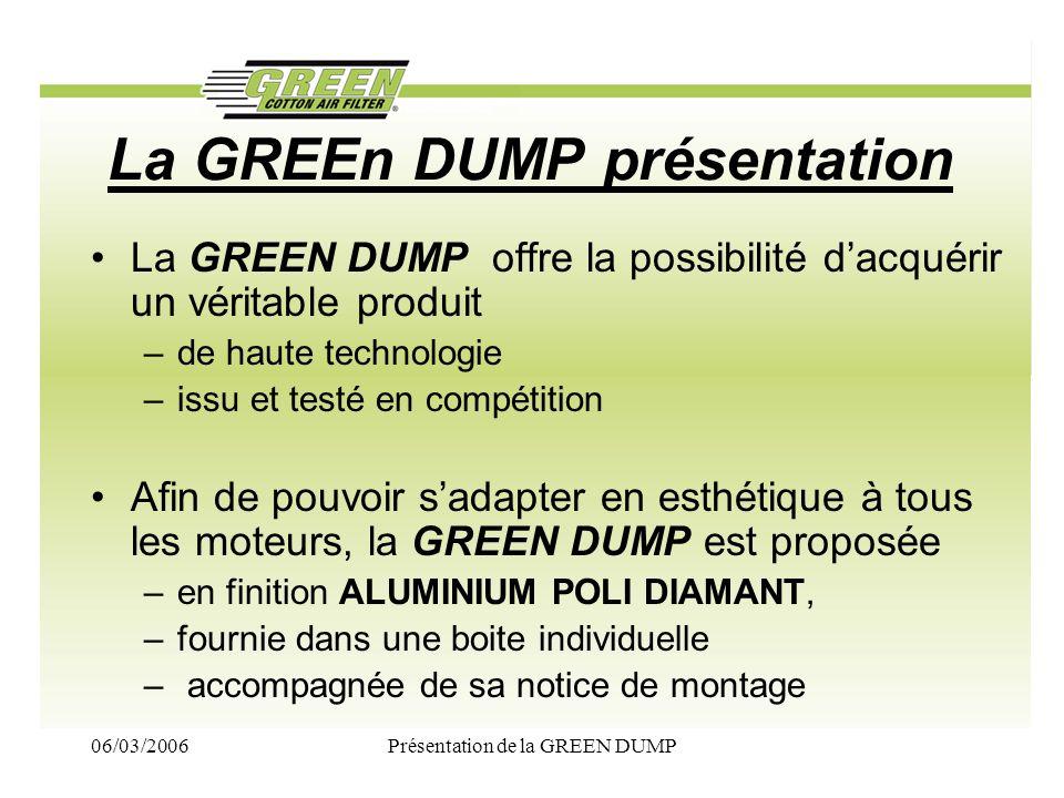 La GREEn DUMP présentation