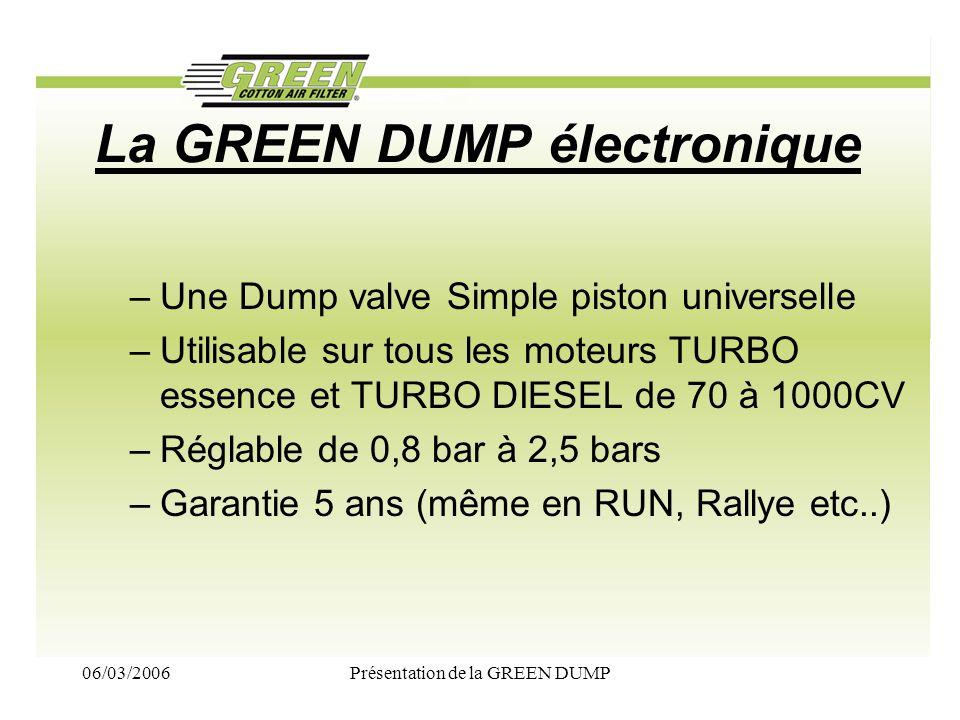 La GREEN DUMP électronique