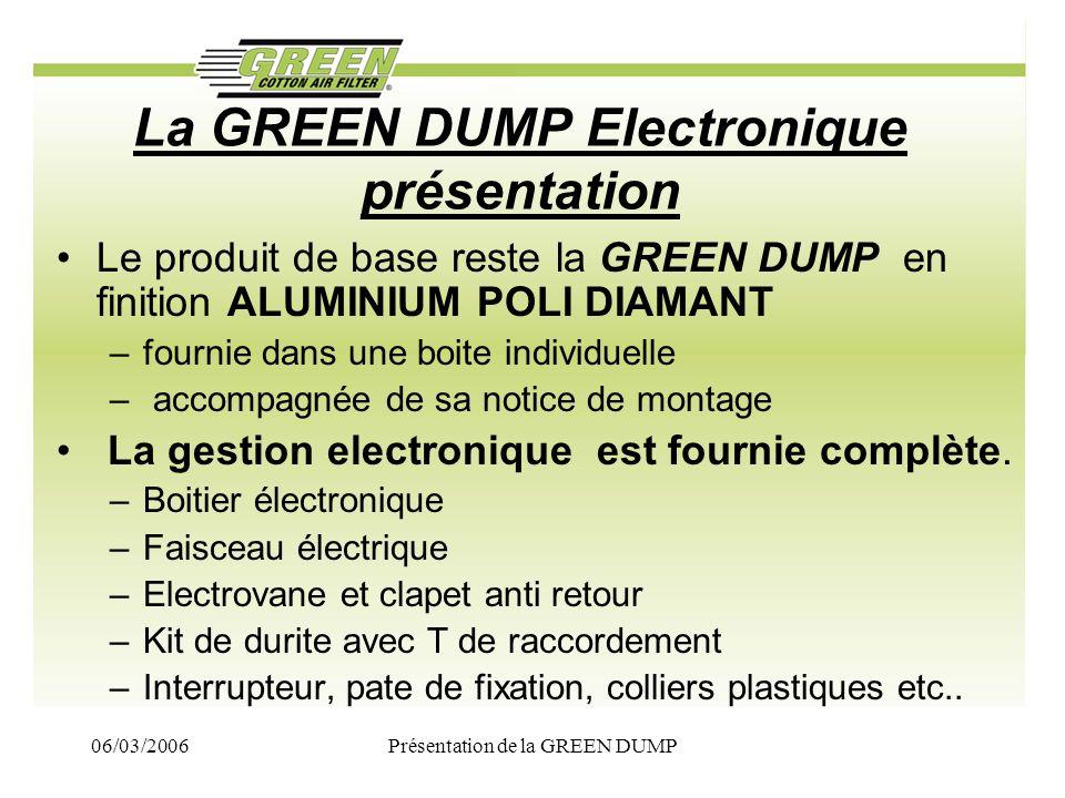 La GREEN DUMP Electronique présentation