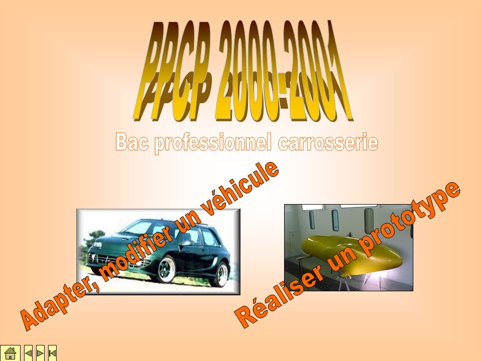 Bac professionnel carrosserie Adapter, modifier un véhicule