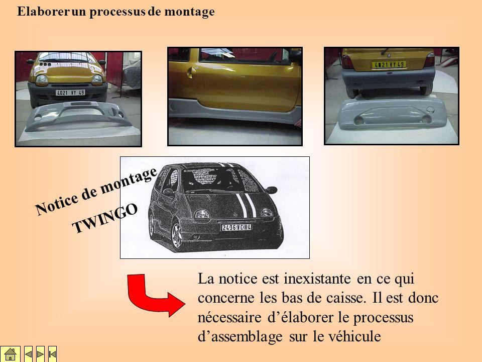 Notice de montage TWINGO