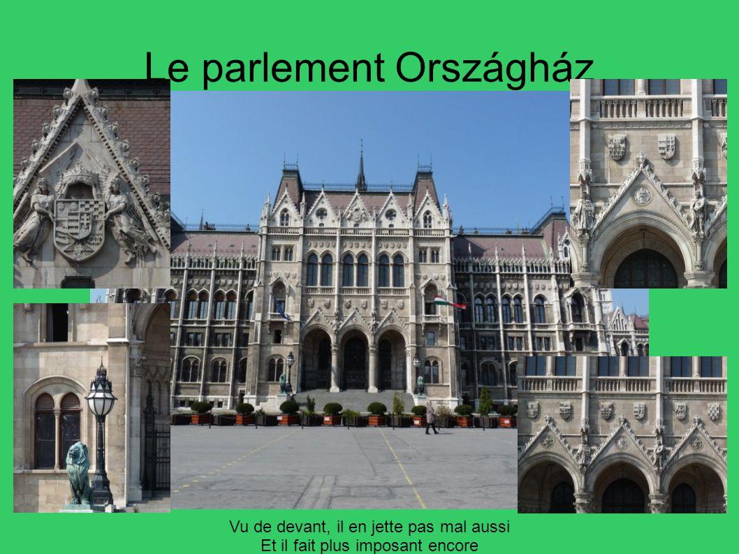 Le parlement Országház