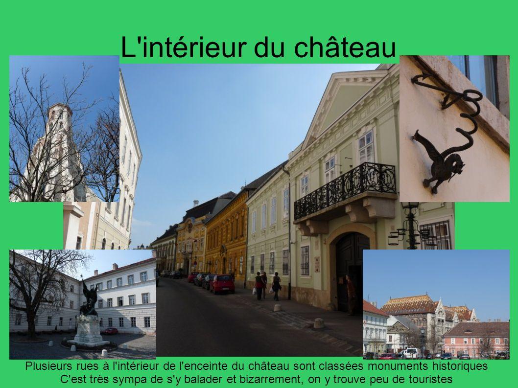 L intérieur du château Plusieurs rues à l intérieur de l enceinte du château sont classées monuments historiques.