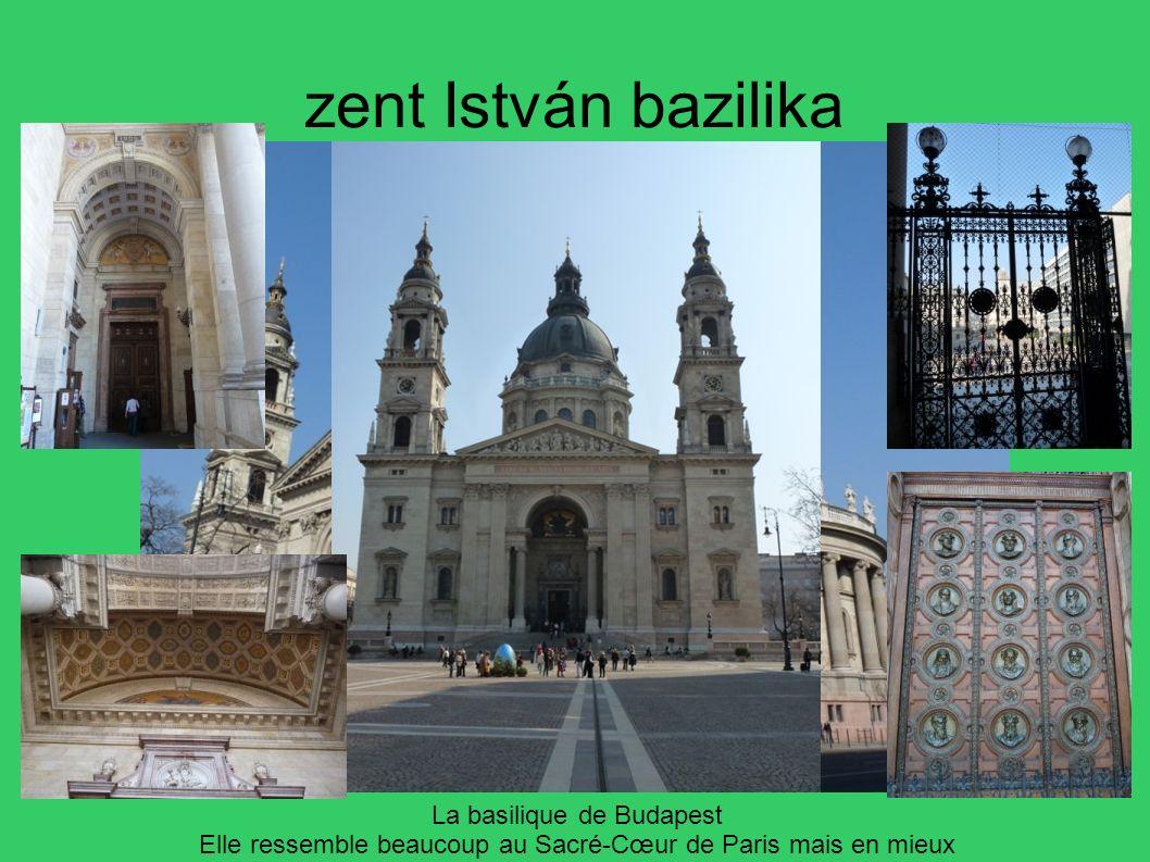 zent István bazilika La basilique de Budapest