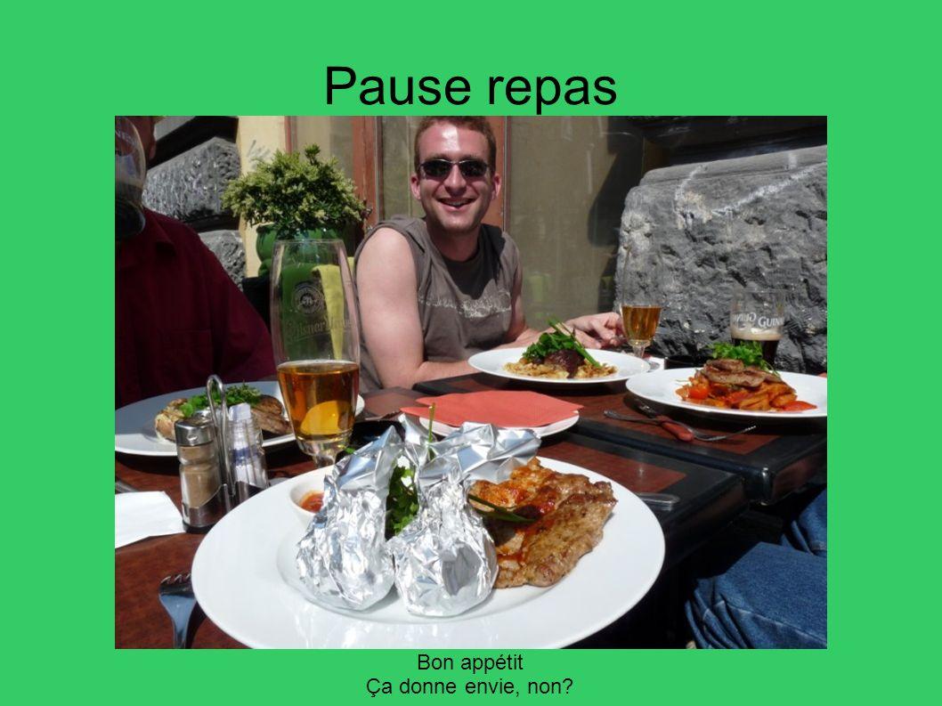 Pause repas Bon appétit Ça donne envie, non 40