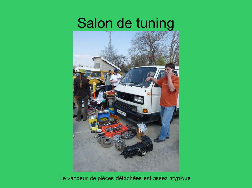 Salon de tuning Le vendeur de pièces détachées est assez atypique 55