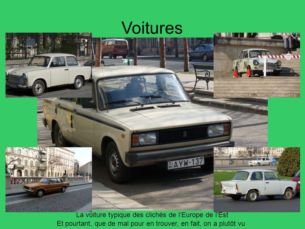 Voitures La voiture typique des clichés de l'Europe de l'Est