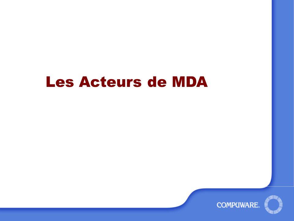 Les Acteurs de MDA
