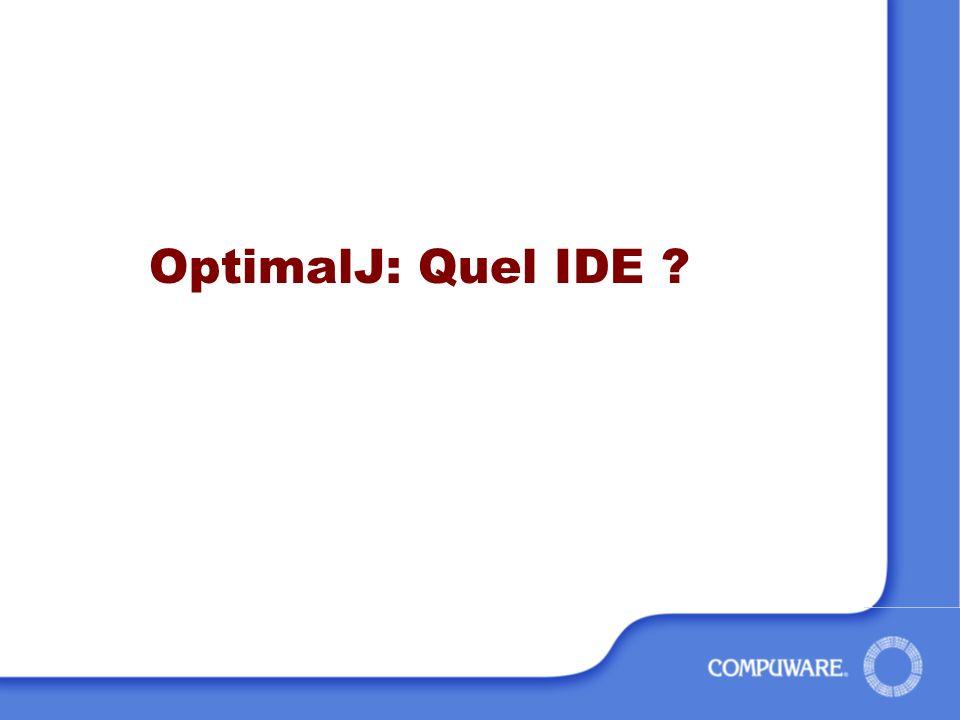 OptimalJ: Quel IDE