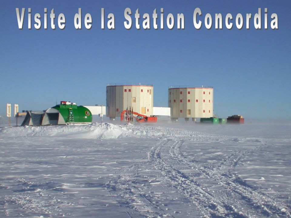 Visite de la Station Concordia