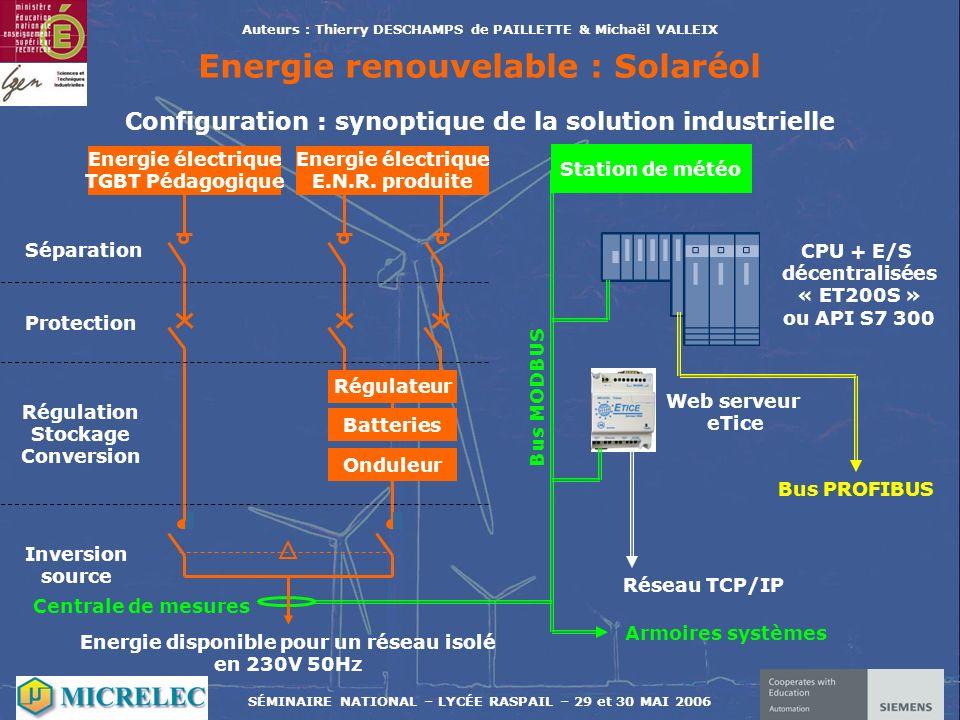 Energie renouvelable : Solaréol