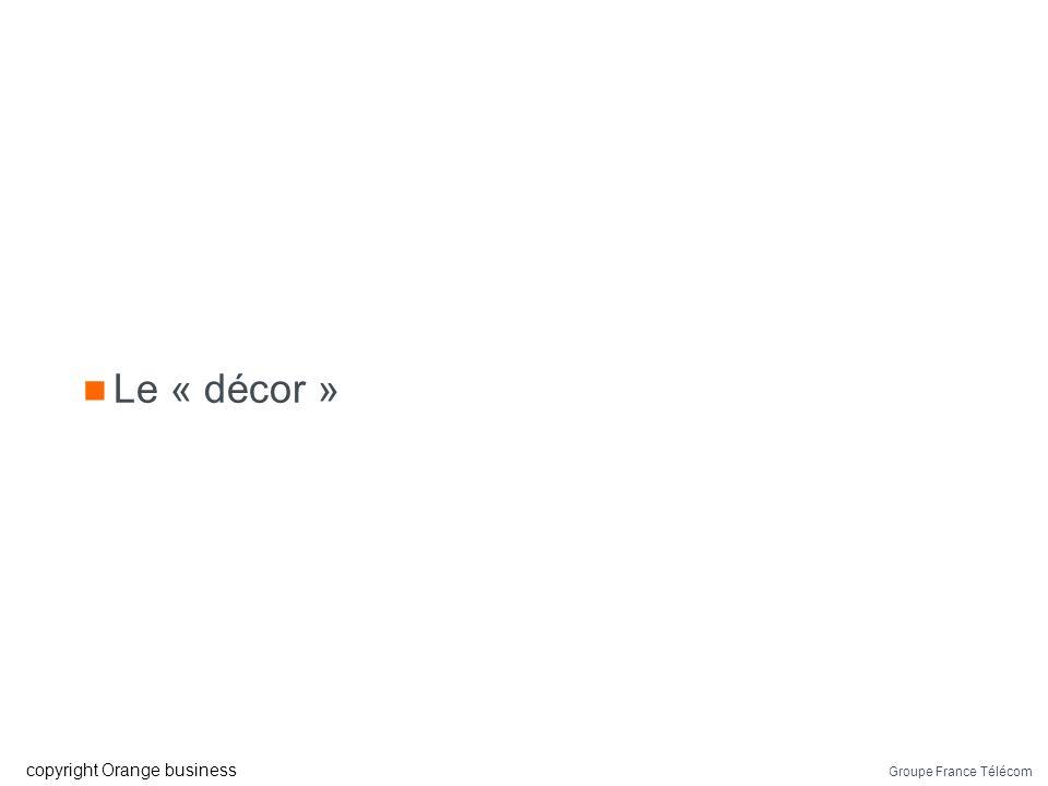 Le « décor »