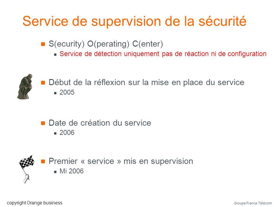 Service de supervision de la sécurité
