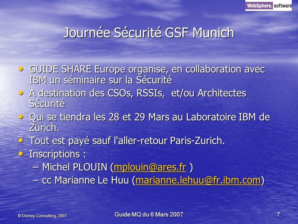 Journée Sécurité GSF Munich