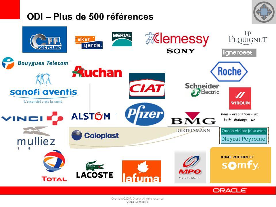 ODI – Plus de 500 références
