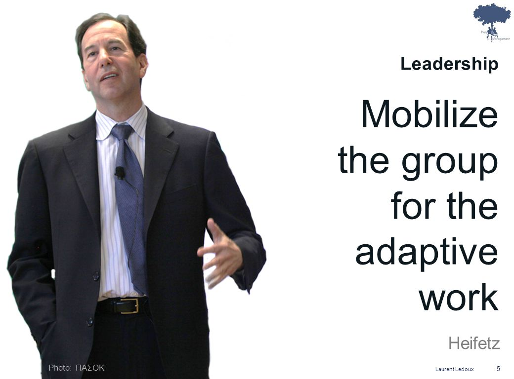 Mobilize the group for the adaptive
