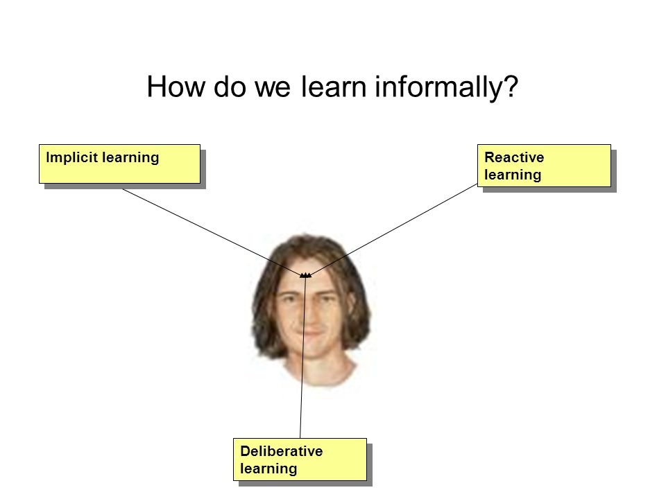 How do we learn informally