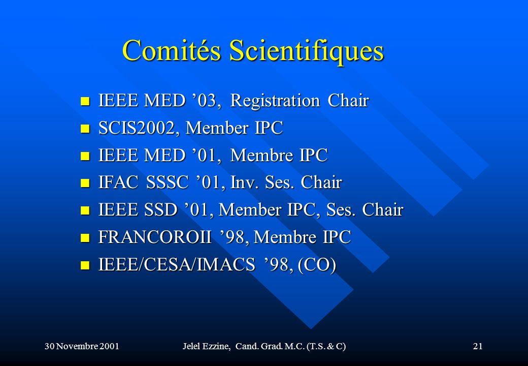 Comités Scientifiques