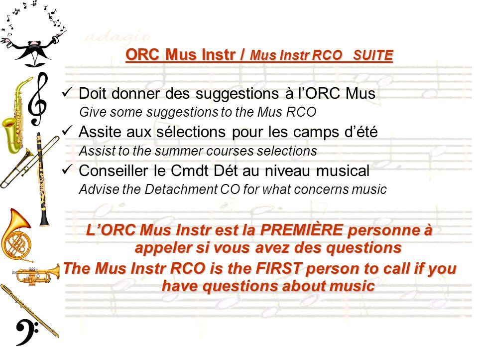 ORC Mus Instr / Mus Instr RCO SUITE