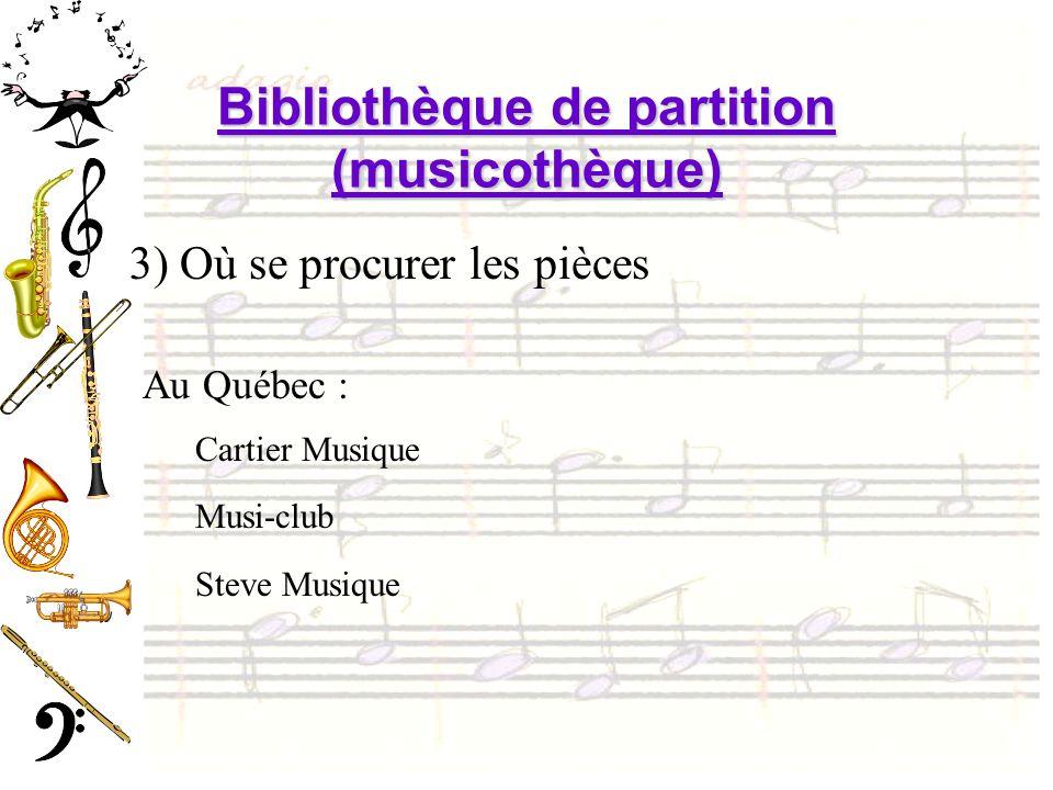 Bibliothèque de partition (musicothèque)
