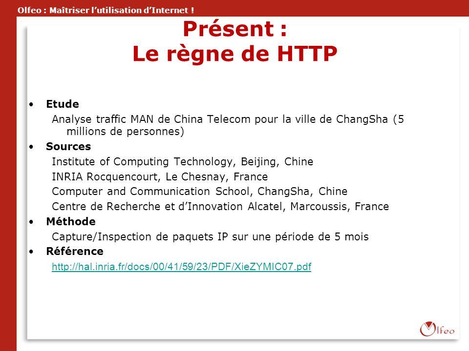 Présent : Le règne de HTTP