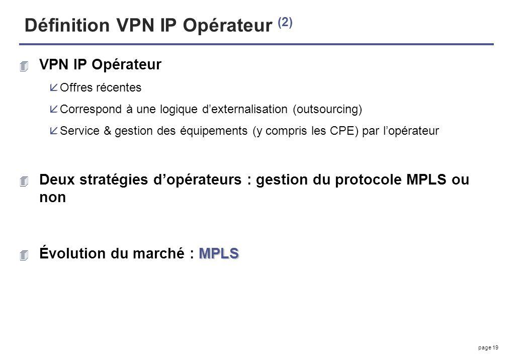 Définition VPN IP Opérateur (2)