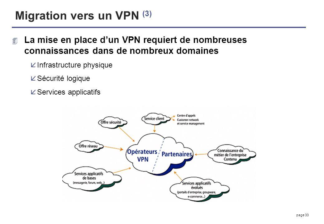 Migration vers un VPN (3)