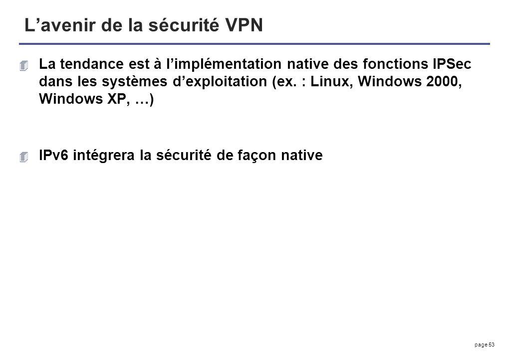 L'avenir de la sécurité VPN