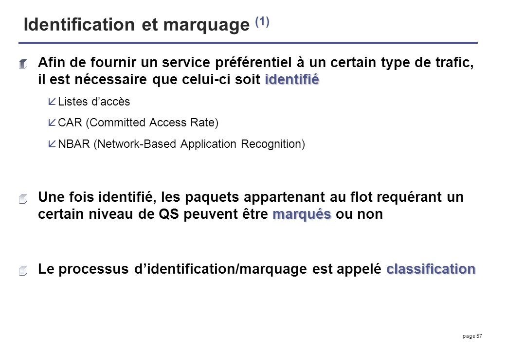Identification et marquage (1)
