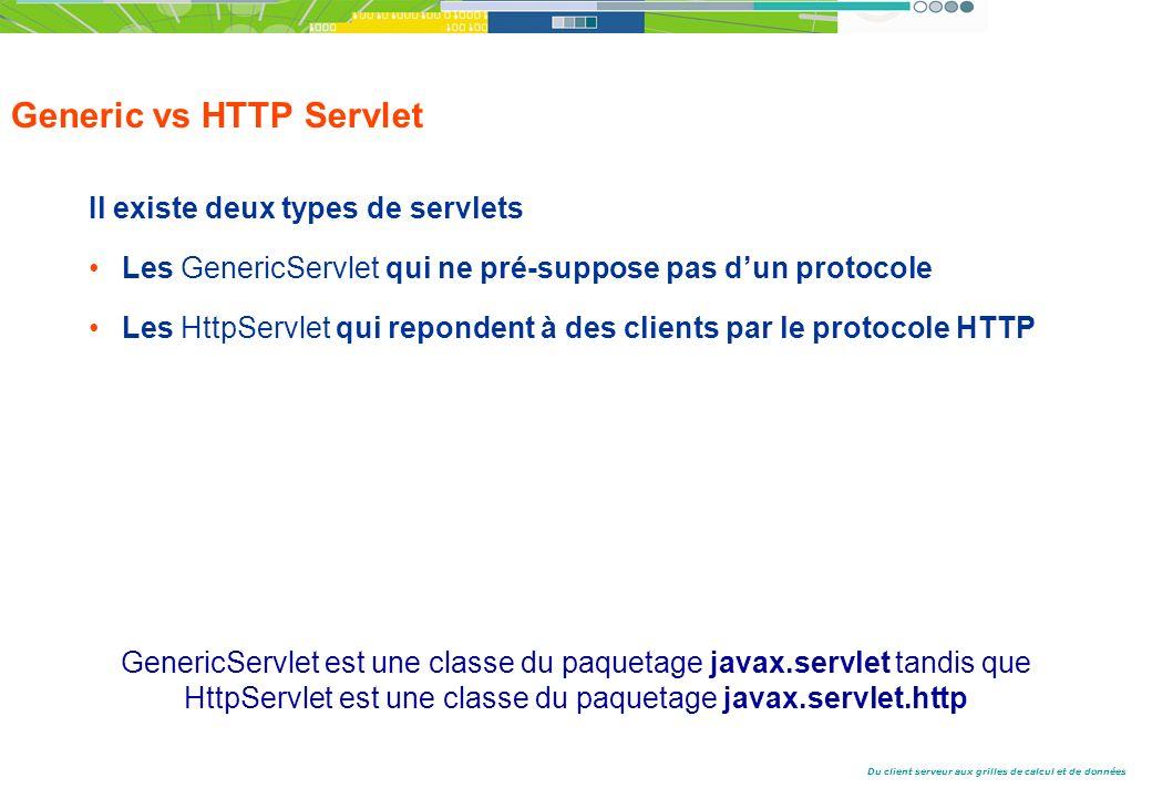 Generic vs HTTP Servlet