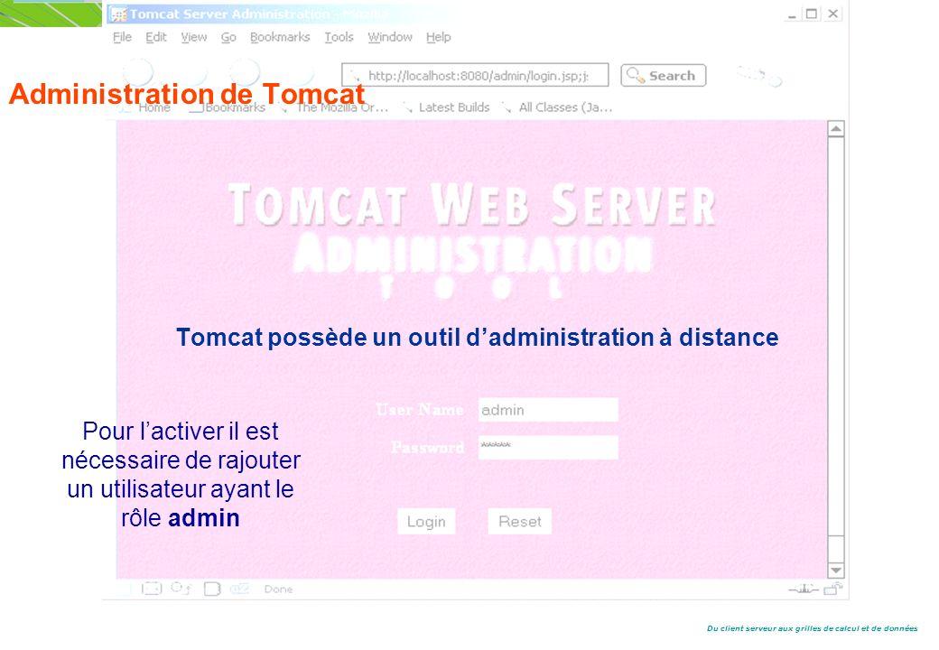 Administration de Tomcat