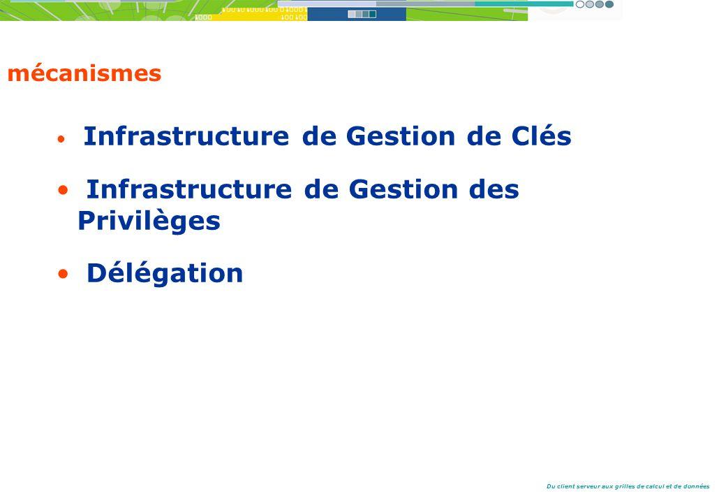 Infrastructure de Gestion des Privilèges