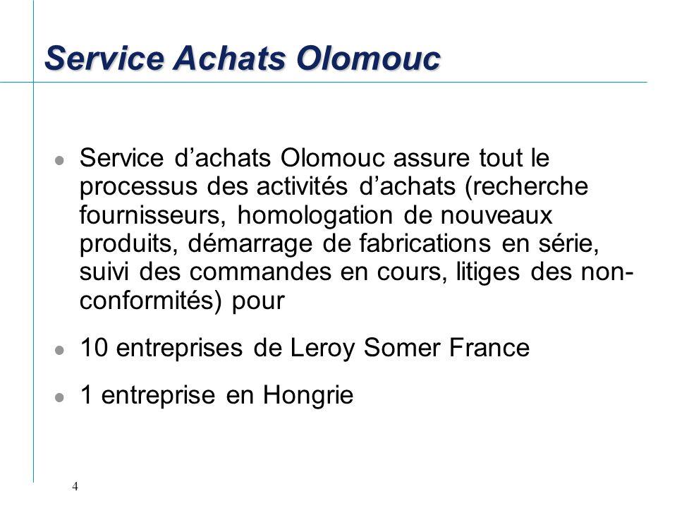 Service Achats Olomouc