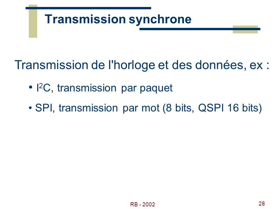 Transmission synchrone