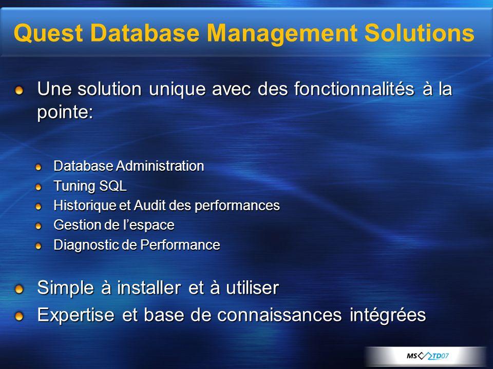 Quest Database Management Solutions