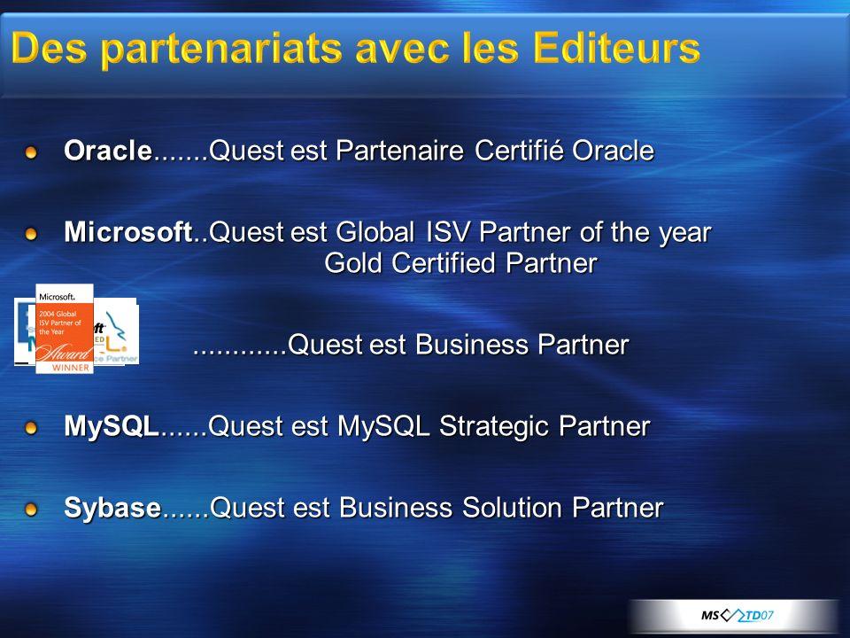 Des partenariats avec les Editeurs