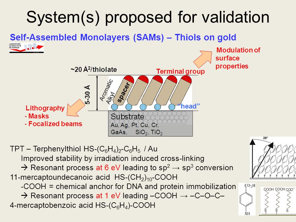 System(s) proposed for validation