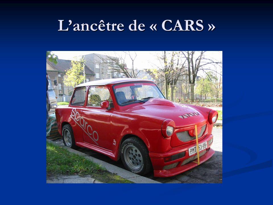 L'ancêtre de « CARS »