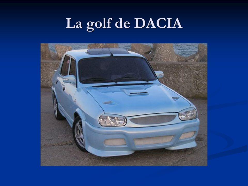 La golf de DACIA