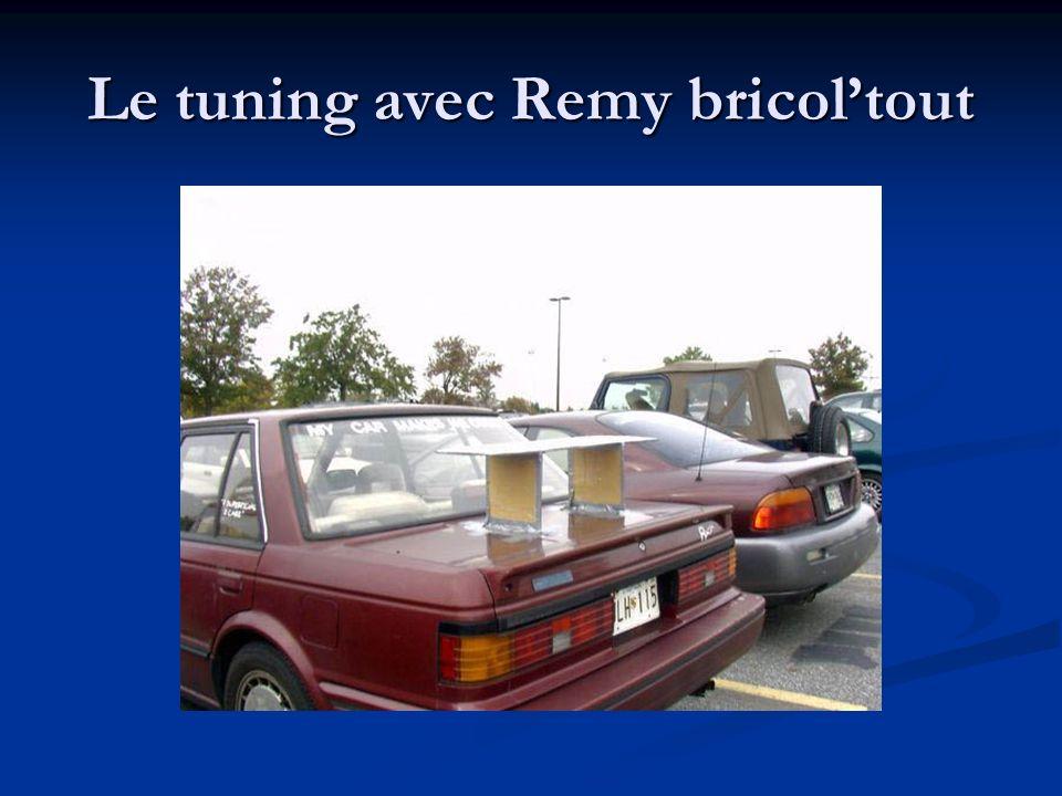 Le tuning avec Remy bricol'tout
