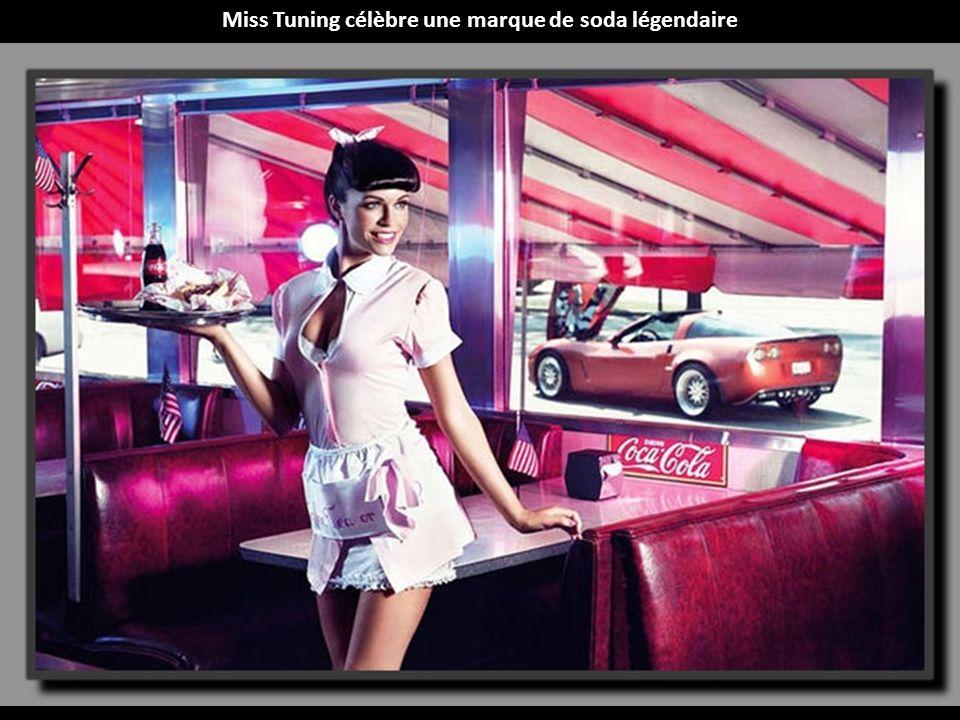 Miss Tuning célèbre une marque de soda légendaire