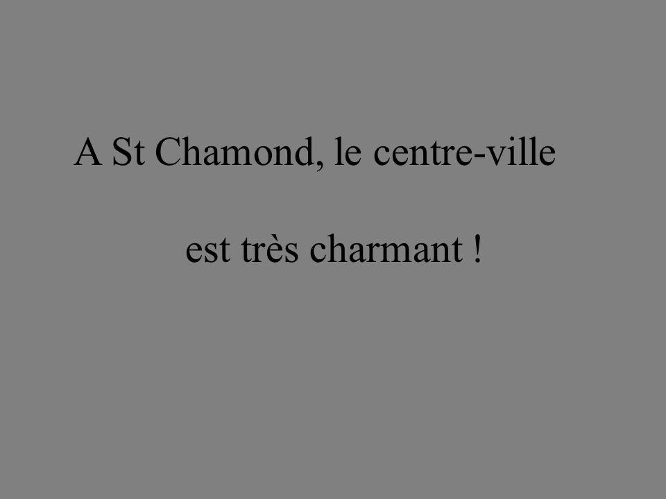 A St Chamond, le centre-ville