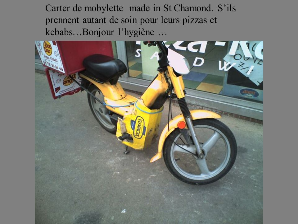 Carter de mobylette made in St Chamond