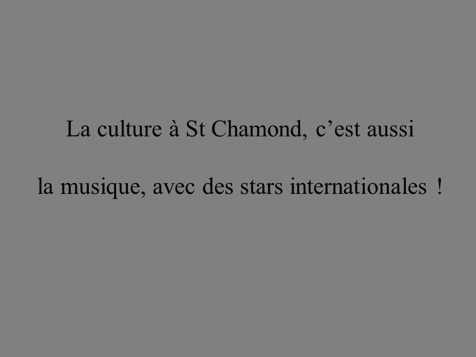 La culture à St Chamond, c'est aussi