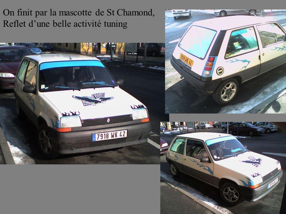 On finit par la mascotte de St Chamond,