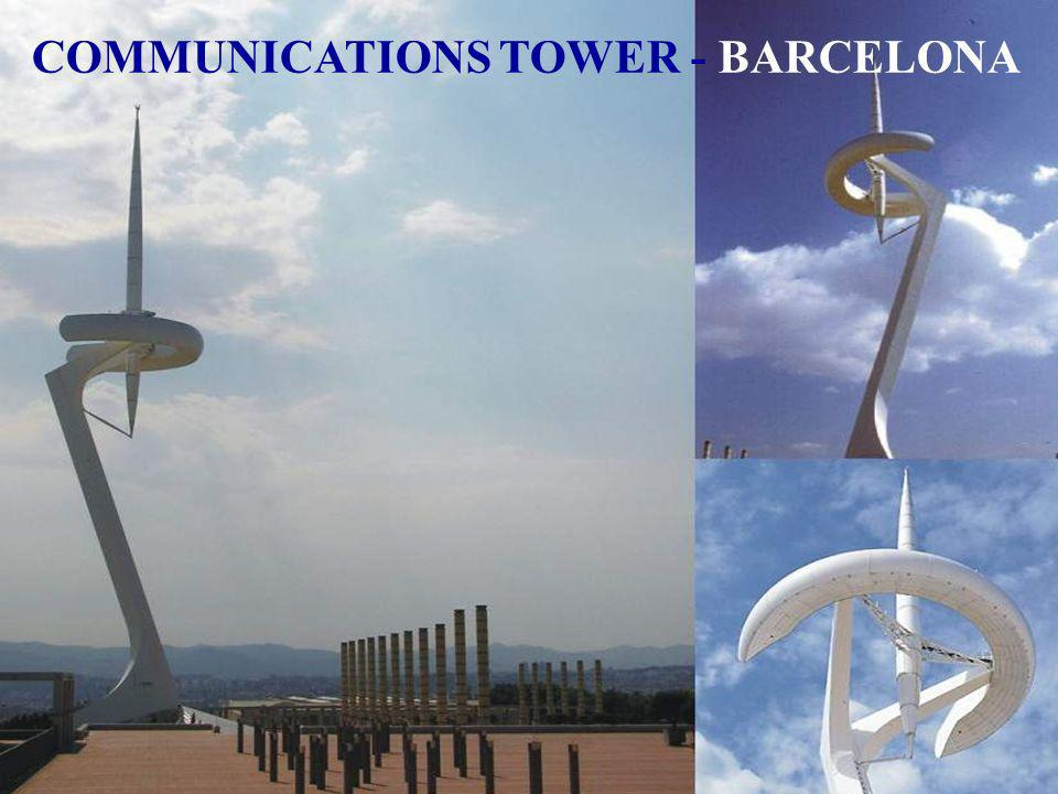 COMMUNICATIONS TOWER - BARCELONA