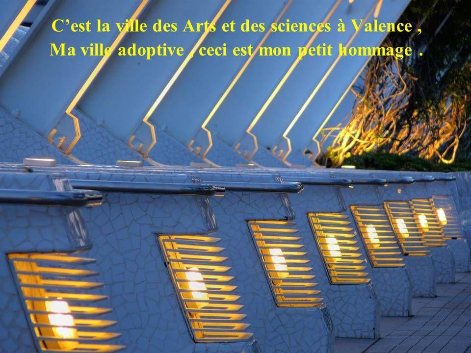 C'est la ville des Arts et des sciences à Valence ,