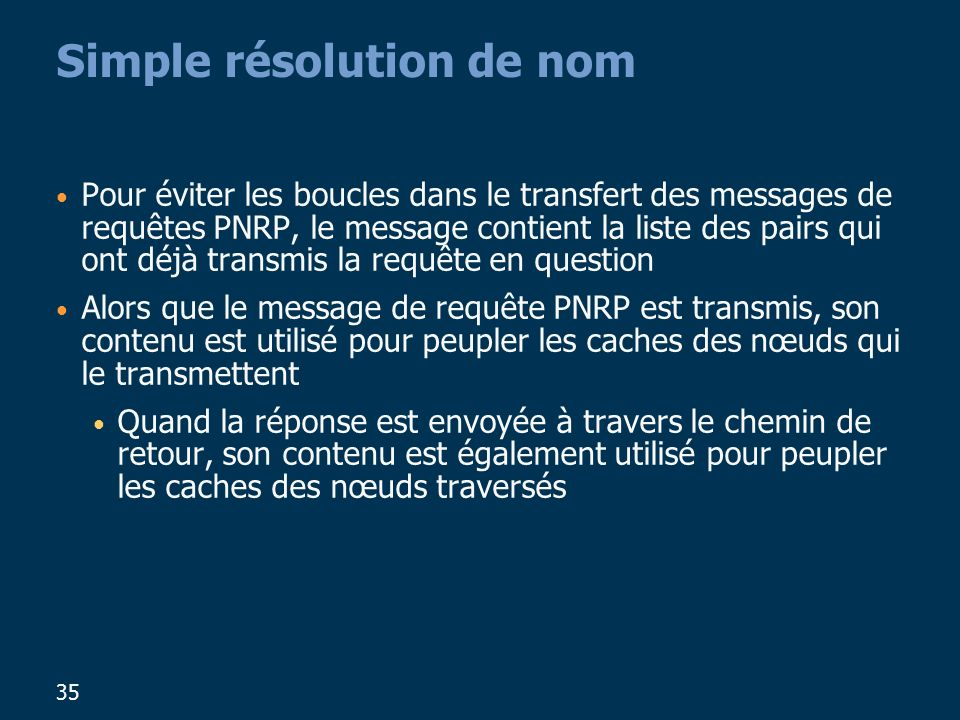 Simple résolution de nom