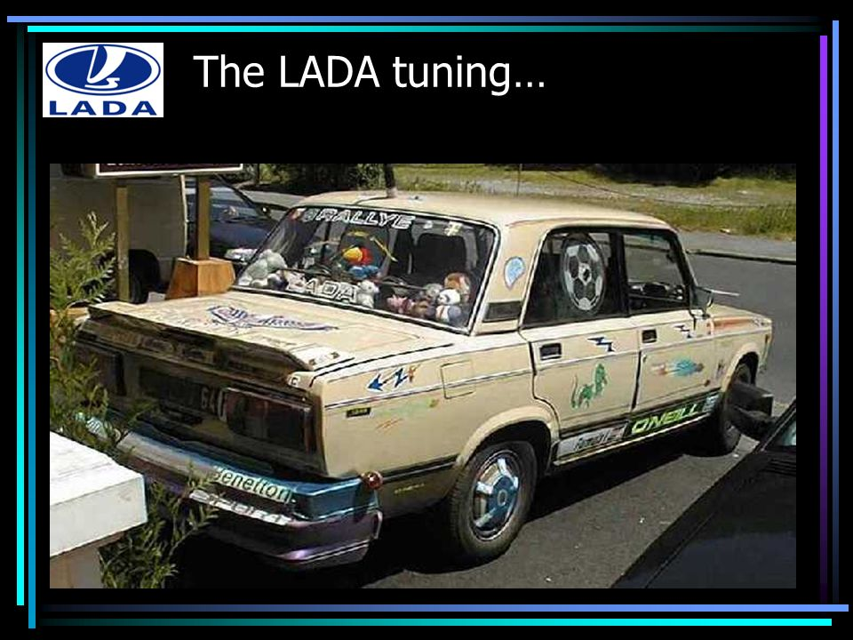 The LADA tuning…